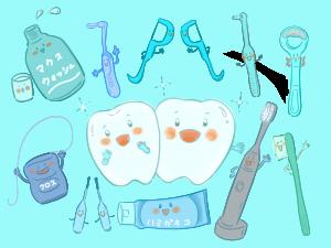 清掃部位とマウスケア用品の選択肢