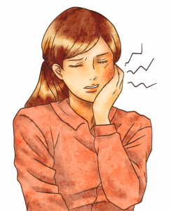 口腔内への自律神経の影響